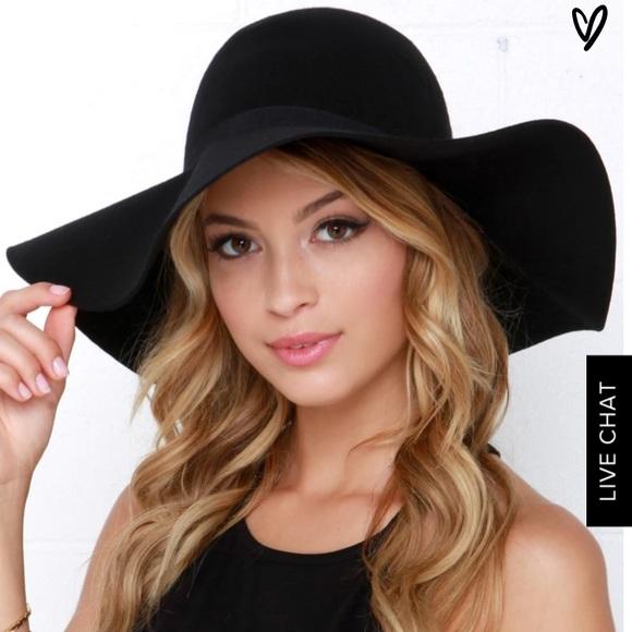 2553e274669 ... Black Hat. Lulu s Accessories - Lulu s Carmen Sun Diego ...